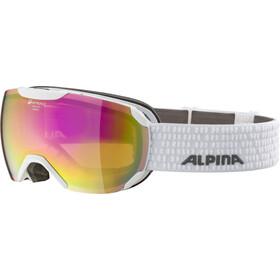 Alpina Pheos S QHM Gafas, white/pink